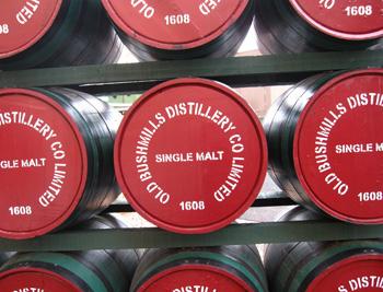 Bushmills kegs